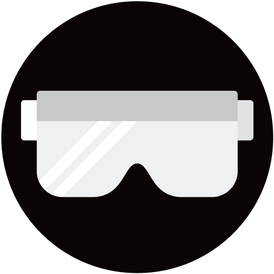 radiation protection lead glasses