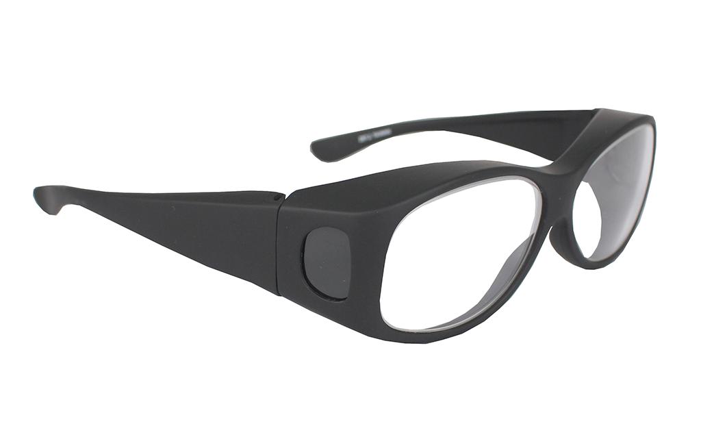 lead glasses fitovers ecofit infab black 832000