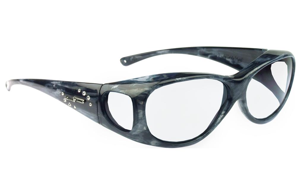 lead glasses fitovers lotus matte smoke marble 800306
