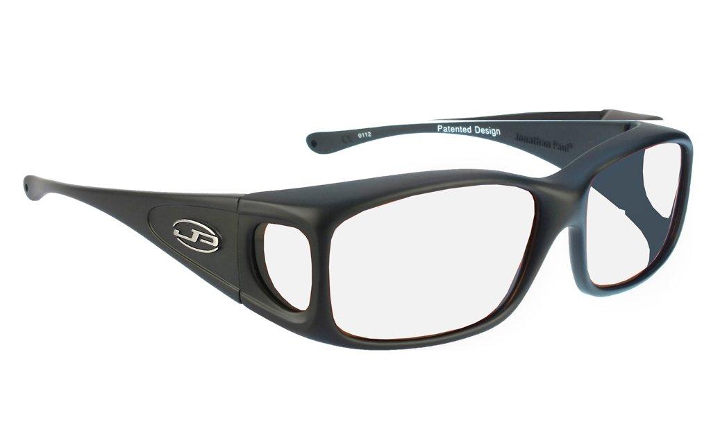 lead glasses fitovers razor matte black 800230