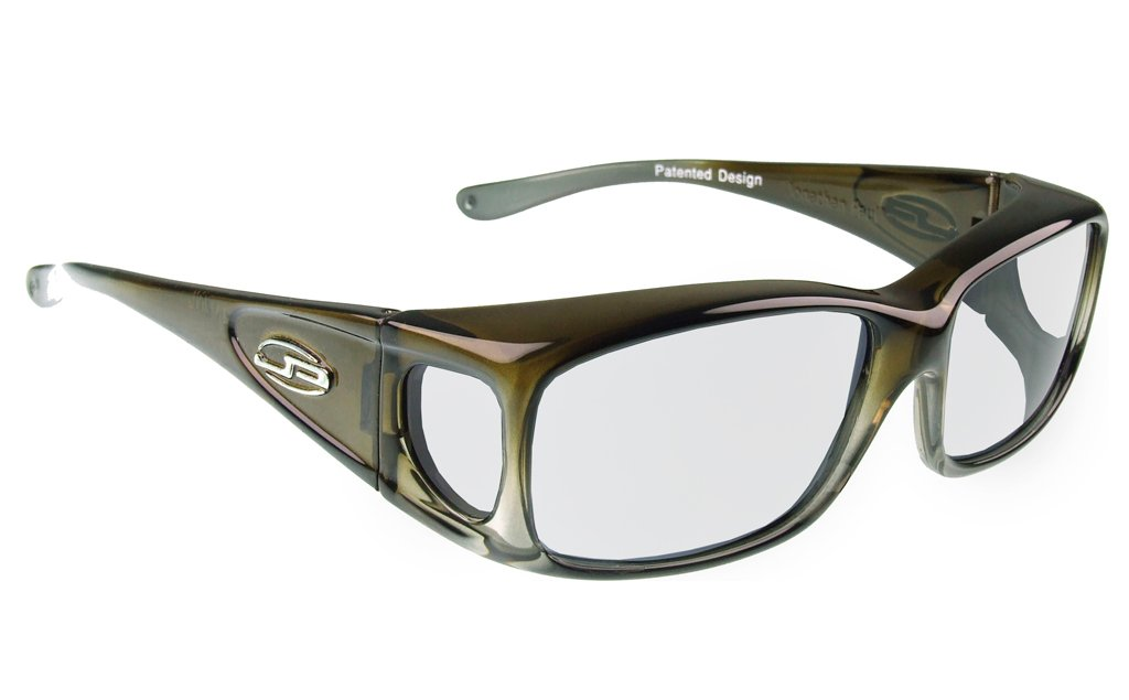 lead glasses fitovers razor matte olive charcoal 800235