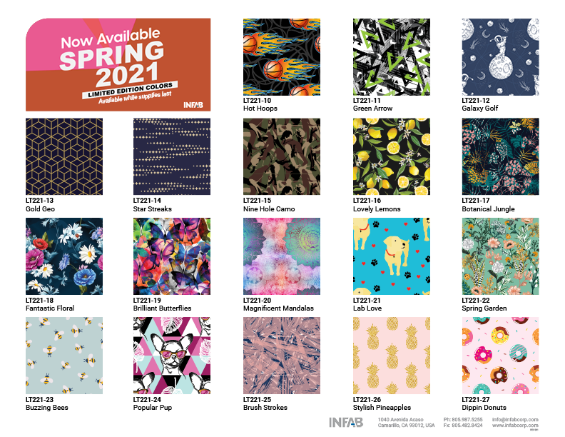 Spring 2021 Limited Edition Colors 1