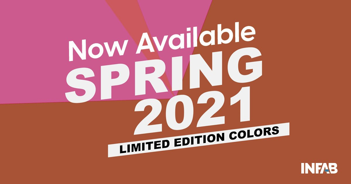 UPDATED: Now Available: Spring Colors 2021 Limited Edition